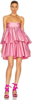 Rotate by Birger Christensen Carmina Dress in Prism Pink   FWRD