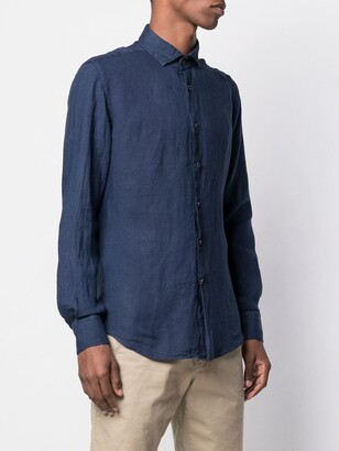 Glanshirt Slim-Fit Shirt