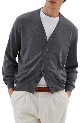 Brunello Cucinelli Fine Gauge Wool & Cashmere Cardigan