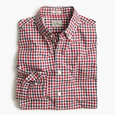 J.Crew Secret Wash shirt in red and blue check