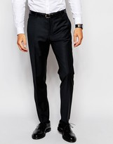 Selected Travel Suit Pants with Stretch in Slim Fit