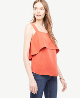 Ann Taylor Double Layer Tank