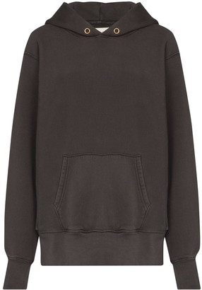 LES TIEN Pouch-Pocket Long-Sleeve Hoodie