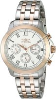 Invicta Women's 21656 Specialty Analog Display Swiss Quartz Two Tone Watch