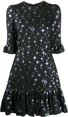 Mary Katrantzou Star Print Dress