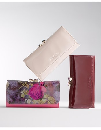Ted Baker 'Floral Print' Matinee Wallet