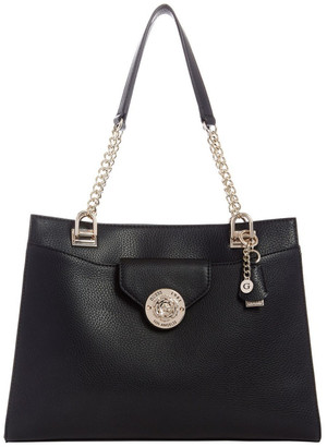 GUESS VG774423BLA Belle Isle Chain Tote