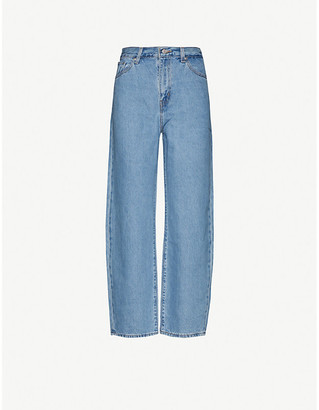 Levi's Wide-leg high-rise jeans