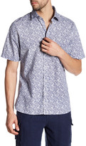 Toscano Printed Regular Fit Short Sleeve Shirt