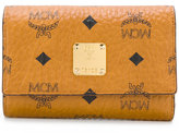 MCM flap wallet