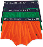 Polo Ralph Lauren Men's Cotton Stretch 3 Pack Trunks