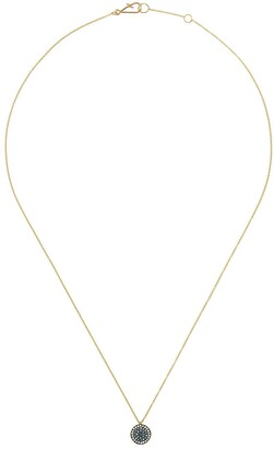 Annoushka 18kt yellow gold Love Diamonds Evil Eye diamond necklace