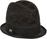 DSQUARED2 Tall Woven Straw Hat