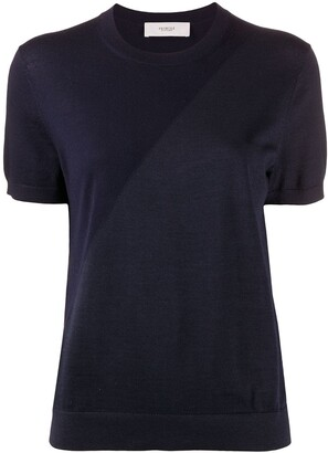 Pringle two-tone short sleeved T-shirt