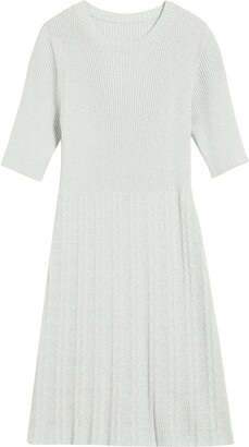 Marc Jacobs Ribbed-Knit Mini Dress