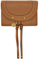 See by Chloe Tan Leather Compact Wallet