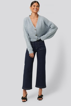 NA-KD High Waist Big Pocket Culottes