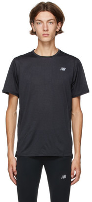 New Balance Grey Impact Run T-Shirt
