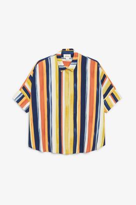 Monki Oversized boxy shirt