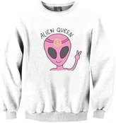 Snlydtan Girls Boys Alien Queen Win Yeah Sweatshirt Clothing