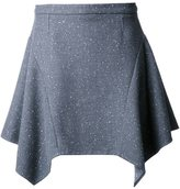 Stella McCartney flared skirt - women - Polyamide/Wool/viscose - 42