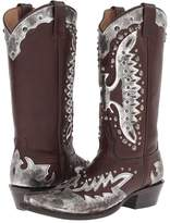 Stetson Studded Eagle Boot