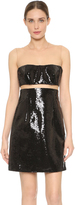 Kaufman Franco KAUFMANFRANCO Liquid Sequin Floating Dress