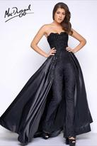 Mac Duggal Prom - 48442 Bustier Gown In Black