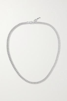 Loren Stewart + Net Sustain Silver Necklace - One size