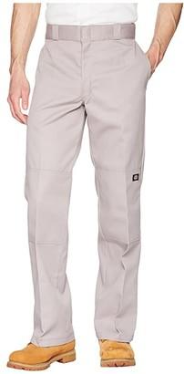 Dickies Double Knee Work Pant (Silver Gray) Men's Clothing