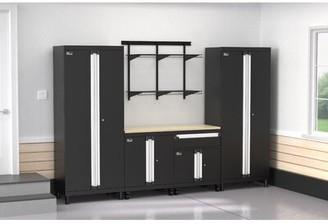 ClosetMaid ProGarage 6 Piece Cabinet & MaxLoad Shelf Set