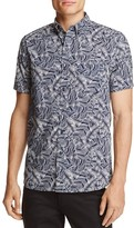 Michael Bastian Banana Leaf Print Regular Fit Button-Down Shirt - 100% Exclusive