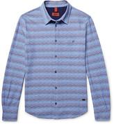 Missoni Slim-Fit Patterned Cotton Shirt