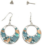 Arizona 4-pc. Multi Color Earring Sets