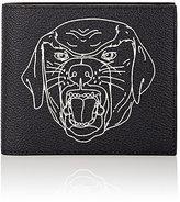 Givenchy Men's Stenciled-Rottweiler Billfold