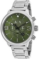 Giorgio Armani Exchange ATLC AX1370 Men's Stainless Steel Chronograph Watch