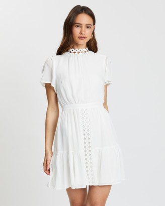 Atmos & Here Lily Lace Insert Dress