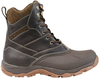 L.L. Bean Men's Storm Chaser Lace-Up Boots with Arctic Grip