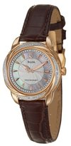 Bulova Women's 98R152 Precisionist Brightwater Leather strap Watch