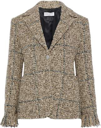 Sonia Rykiel Frayed Boucle-tweed Blazer