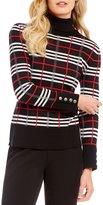 Investments Petites Long Sleeve Turtleneck Sweater