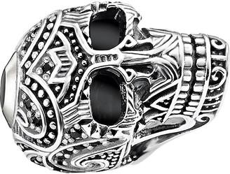 Thomas Sabo Maori Skull sterling silver karma bead