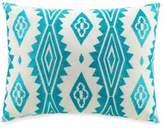 Jessica Simpson Aquarius Aztec Embroidered Decorative Pillow