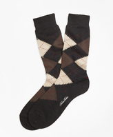 Brooks Brothers Argyle Crew Socks