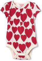 Gap Hearts short sleeves bodysuit