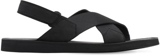 Bruno Bordese Leather & Nylon Sandals