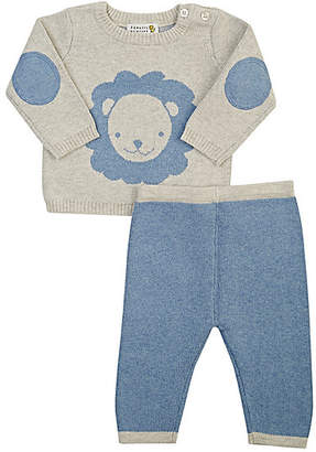 Barneys New York Infants' Lion Sweater & Pants Set - Blue