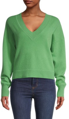 Naadam Cashmere V-Neck Pullover Sweater