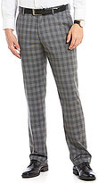 Murano Zac Modern Classic Fit Flat-Front Check Pants