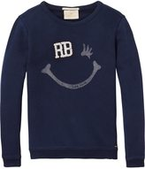 Scotch & Soda Crew Neck R'Belle Sweatshirt